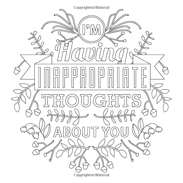 naughty & nice adult coloring for your sweetheart & for