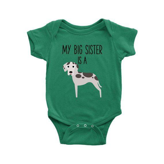 Boy Shirts Baby Bodysuits Girl Shirts Dog Lover Gifts My Best Friend Dog Kids T-shirt Great Dane Kids Shirt