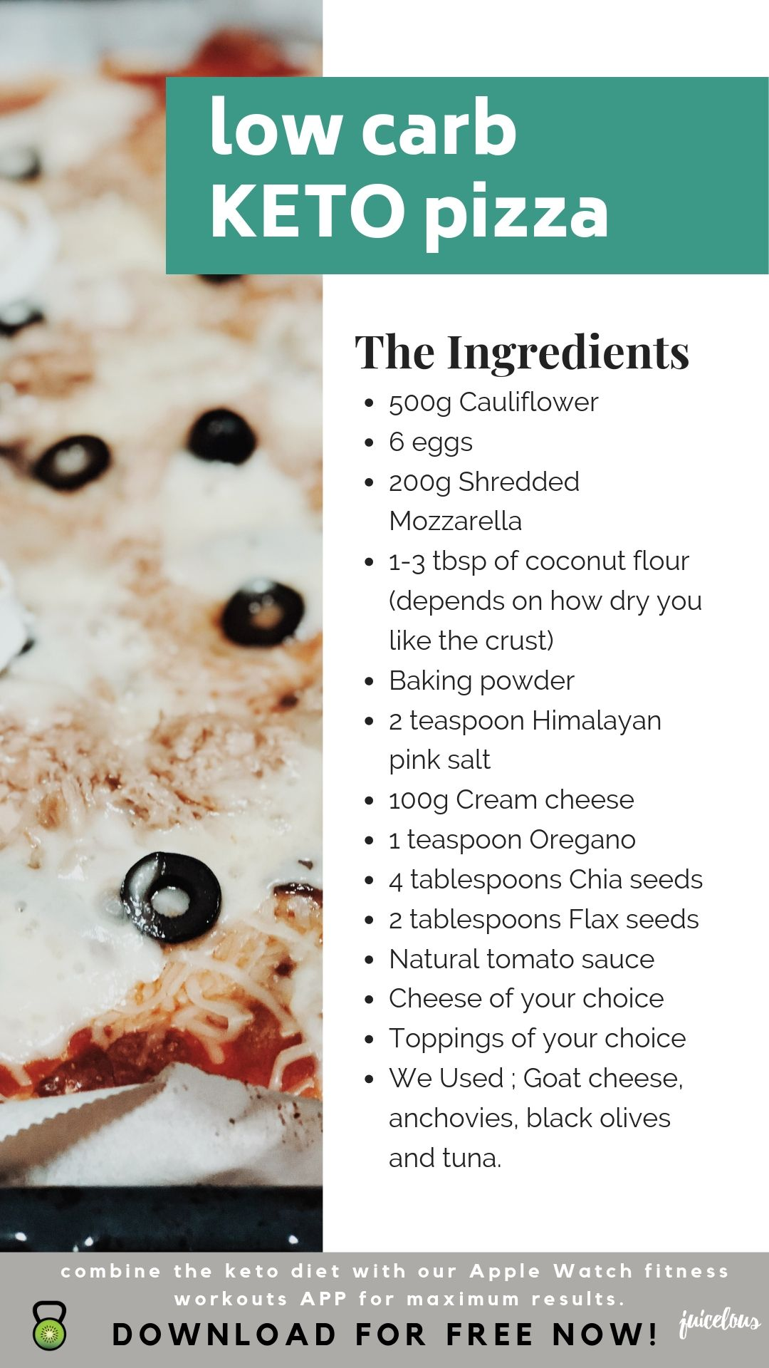 Low Carb Pizza Keto Friendly Bloomlous When Getting Into A