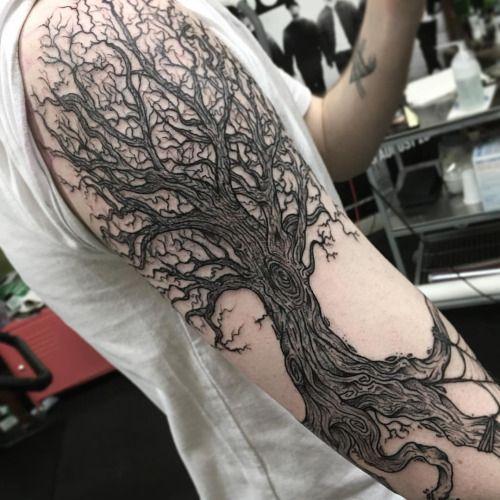 Tree Root Tattoo Sleeve Google Search Tattoos Tree Roots Tattoo Sleeve Tattoos