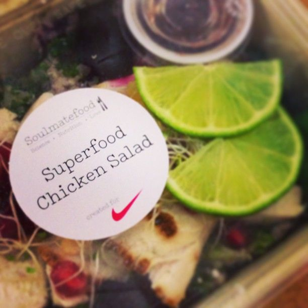 Superfood Chicken Salad for SUPERCHARGE WEEK with Nike Training Club UK