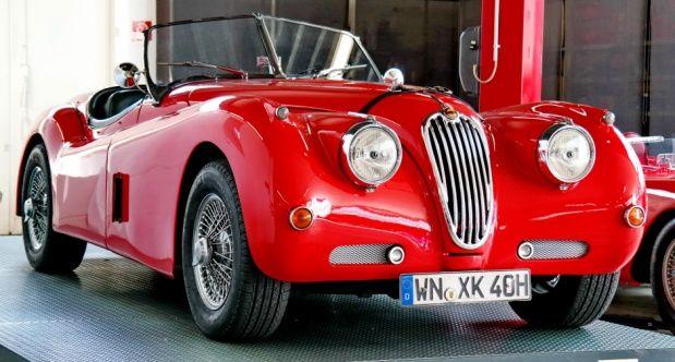 1957 Jaguar XK 140 - XK 140 OTS Roadster | Classic Driver Market