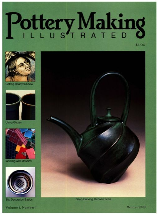 Pottery Making Illustrated Winter 1998 Issue Cover