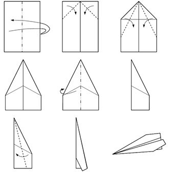 Let S Make Some Fancy Paper Airplanes A Airplane