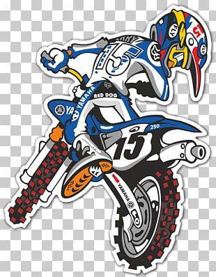 Ilustracion De Motocross Calcomania De Motocross Grand Prix Racing Racing Motocross Png Clipart Motocross Logo Yamaha Motocross Dirt Bike Birthday