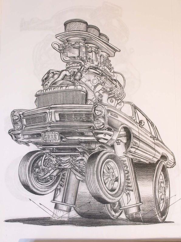 Jobs in Cars: The Automotive Art of Pat Dougherty