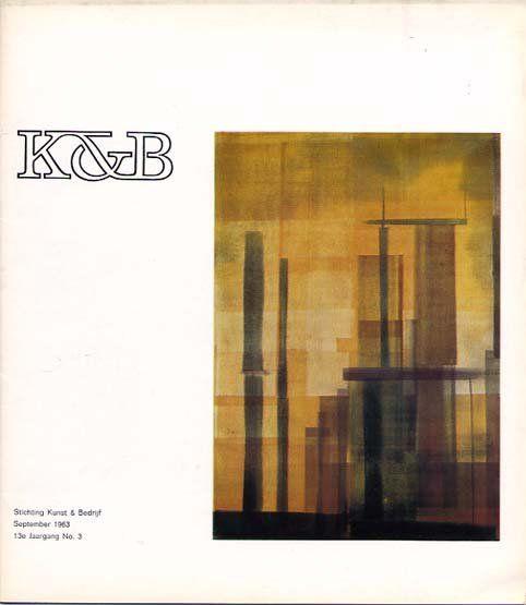 K De geïllustreerde berichten (The illustrated Posts) No,3 1963, house magazine, Stichting Kunst & Bedrijf, 1963