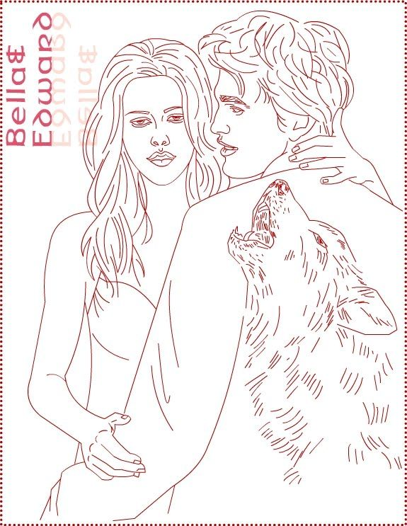 Nicole S Free Coloring Pages Twilight Bella Swan Edward Cullen Coloring Pages Coloring Pages Cartoon Coloring Pages Twilight