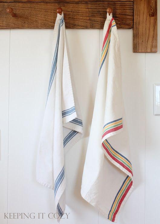 My Favorite Dish Towels Dish Towels Towel Hanging Fabric