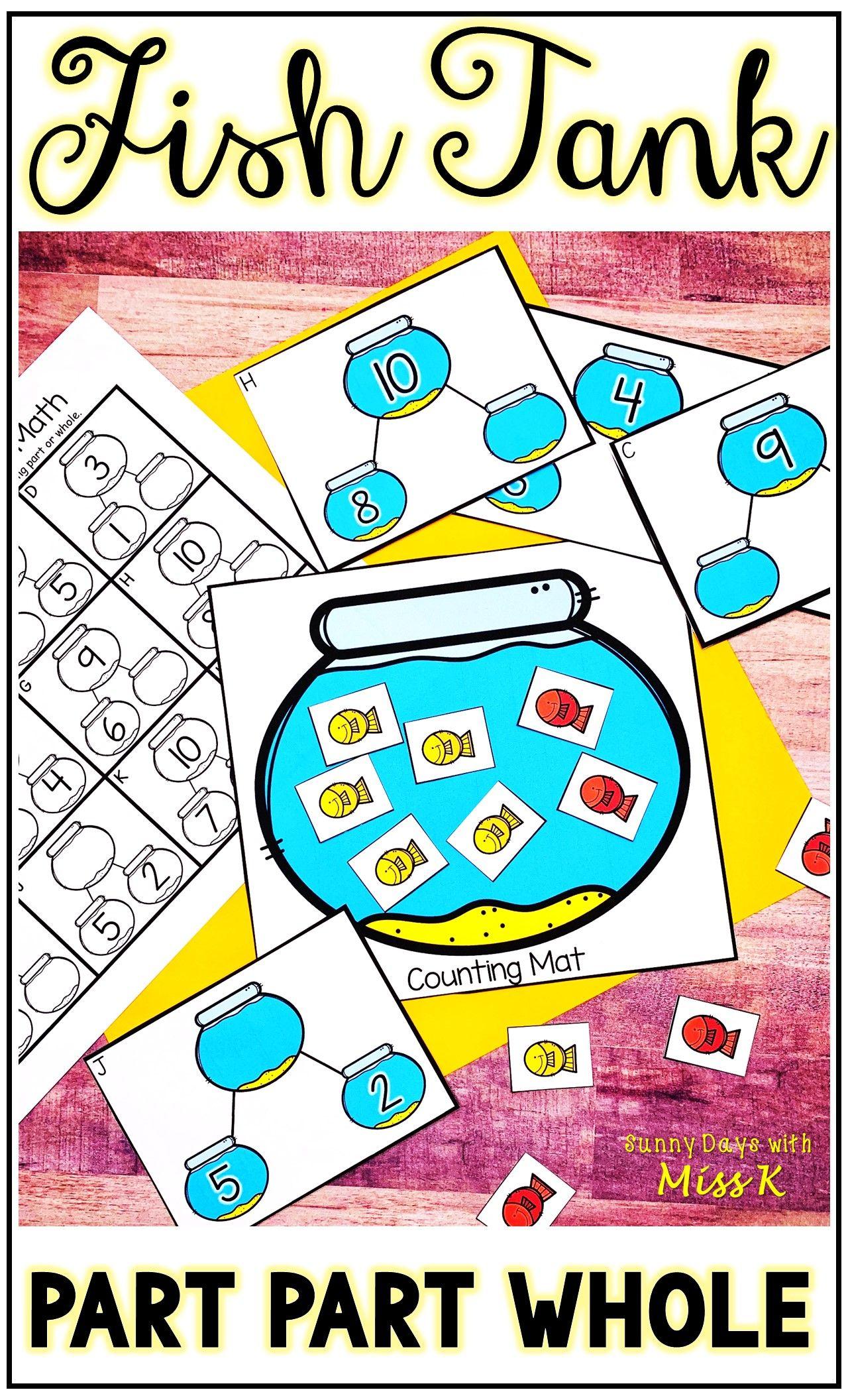 Partial Sums Center Math Centers Elementary Math Centers Part Part Whole [ 2112 x 1280 Pixel ]