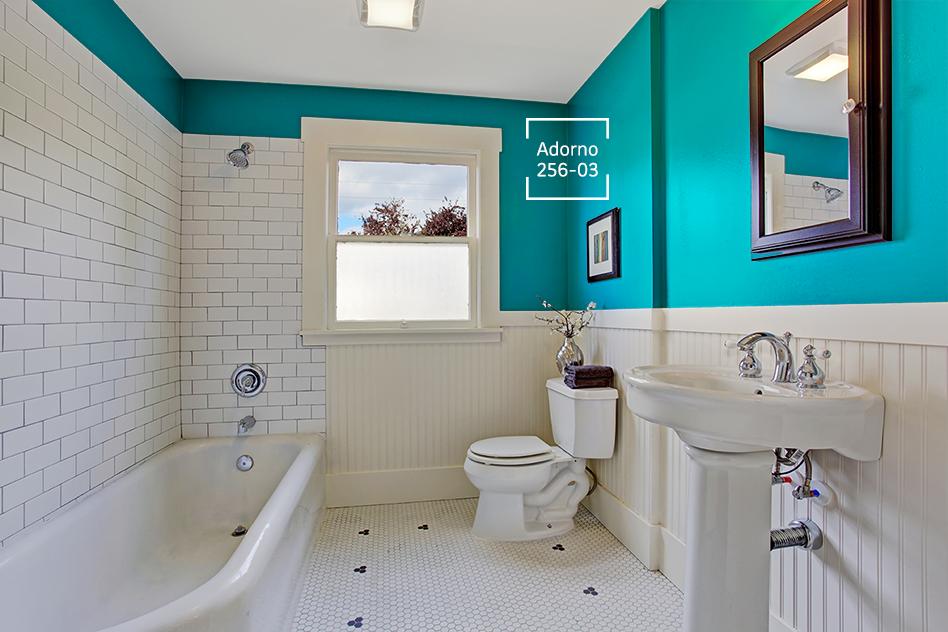 Este color será el Adorno perfecto para que tu baño sea la ...