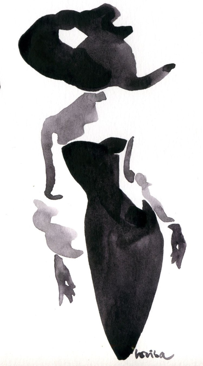 Image about black in Artsy by Elise Meijer on We Heart It