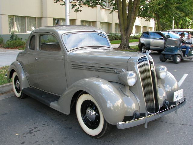 1936 Plymouth P1 Business Coupe 1 Classic Cars