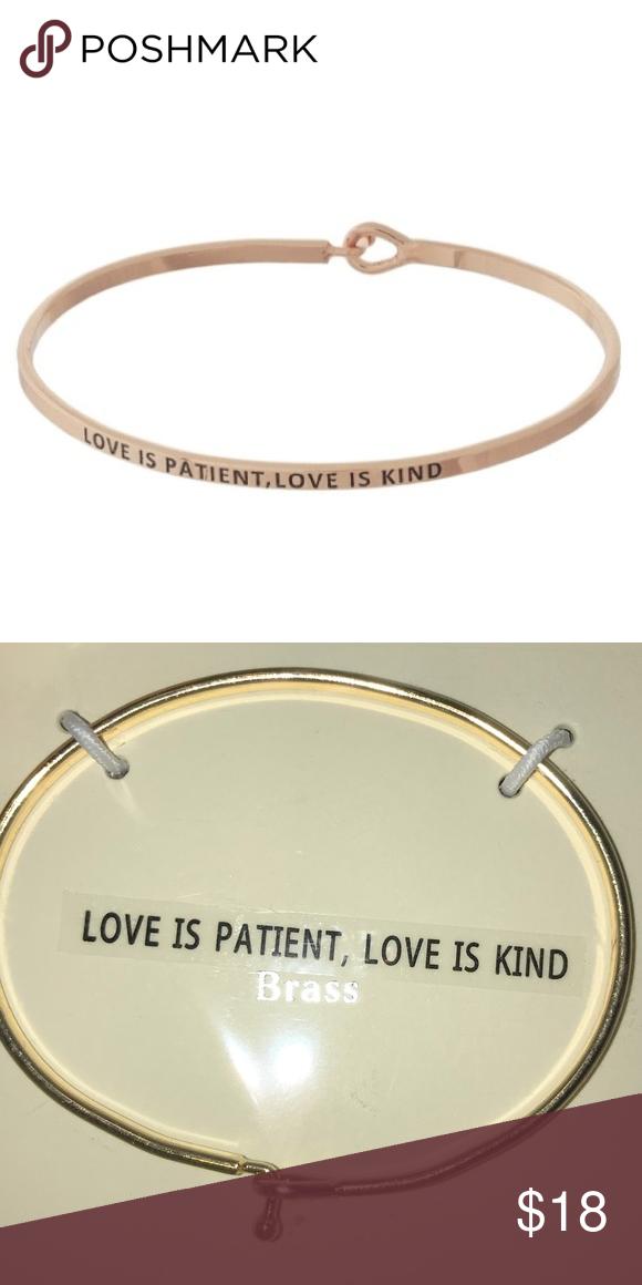 Metal Bracelet Stamped