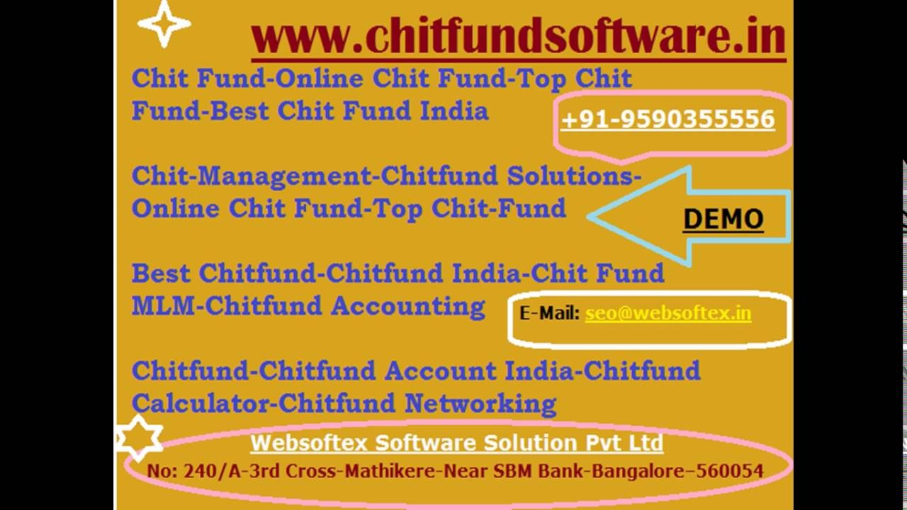 Chit fund project chit fund accounting chit fund