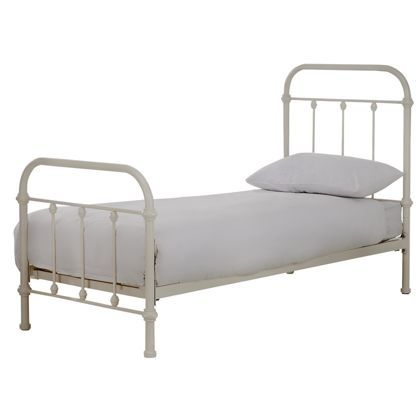 Betsy Victorian Hospital Style Single Bed Frame At