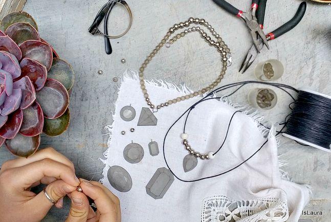 Come fare i gioielli di calcestruzzo – Is laura