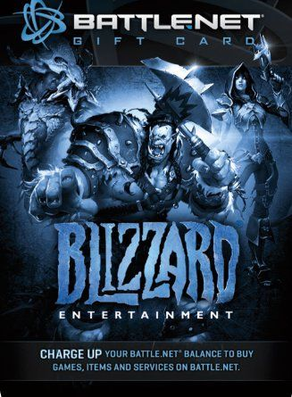 $20 Battle.net Store Gift Card Balance - Blizzard Entertainment ...