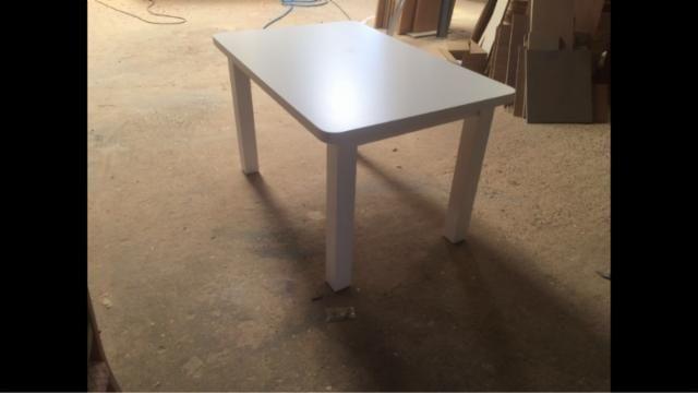 Mesa de salon nueva a estrenar madera lacada - 125487219 - Muebles ...