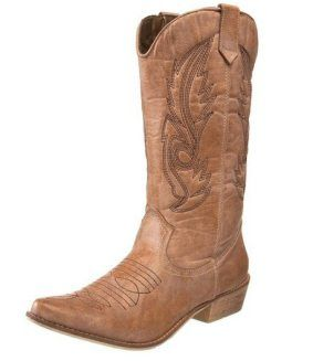Brown Cowgirl Boots Under $100