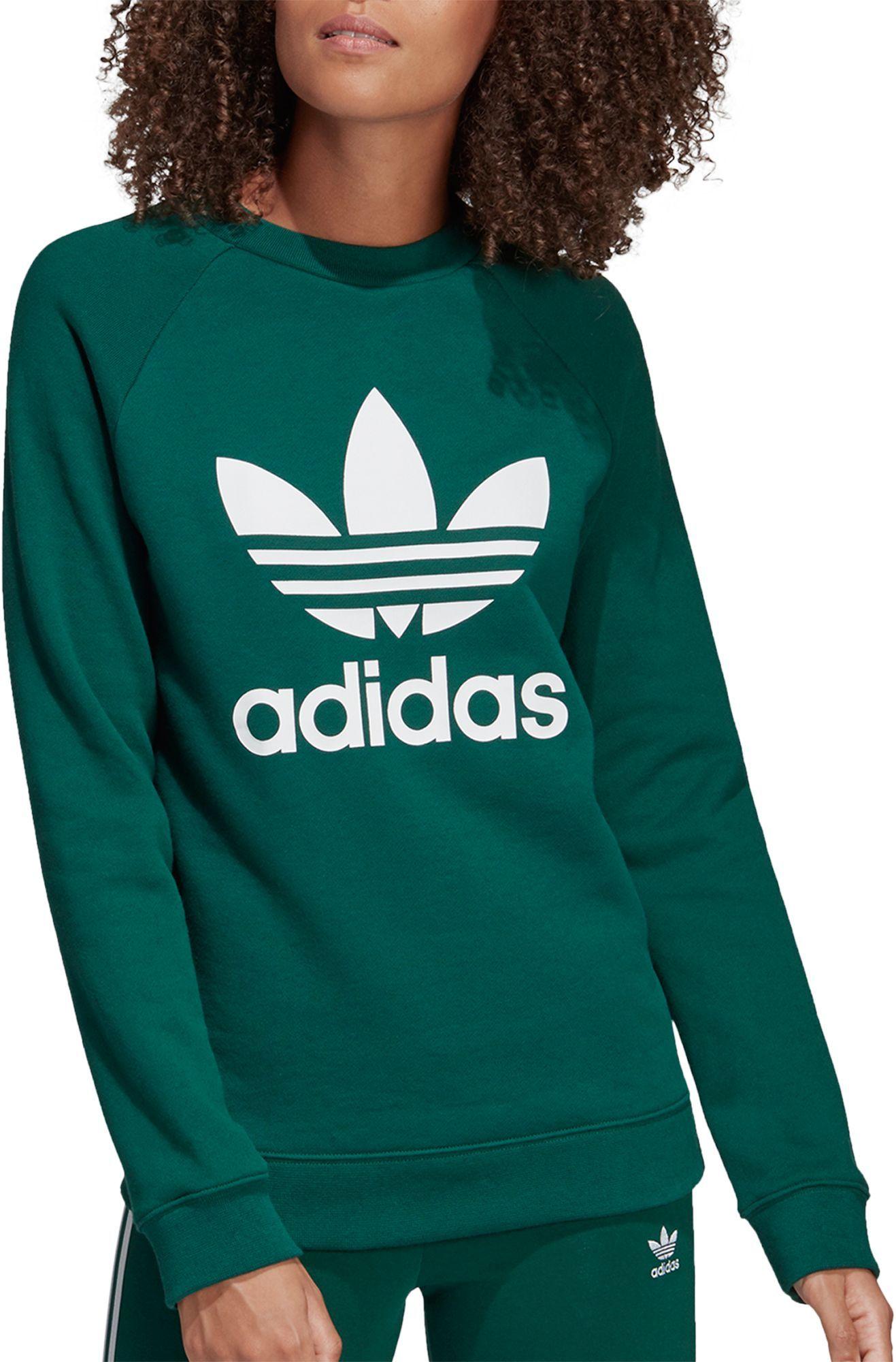 Adidas Originals Women S Trefoil Crew Sweatshirt In 2020 Adidas Sweatshirt Women Adidas Originals Women Sweatshirts [ 2000 x 1317 Pixel ]