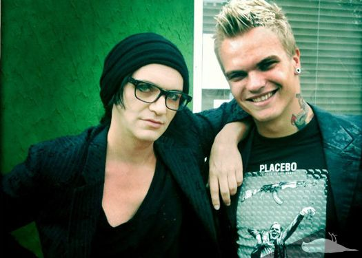 brian molko and stefan olsdal relationship