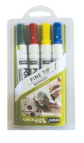 Porcelain 150 Marker Sets Draw Or Write On China Porcelain Ceramic Tile Metal Etc And Then Bake It To Make I Diy Craft Projects Markers Set Glass Painting