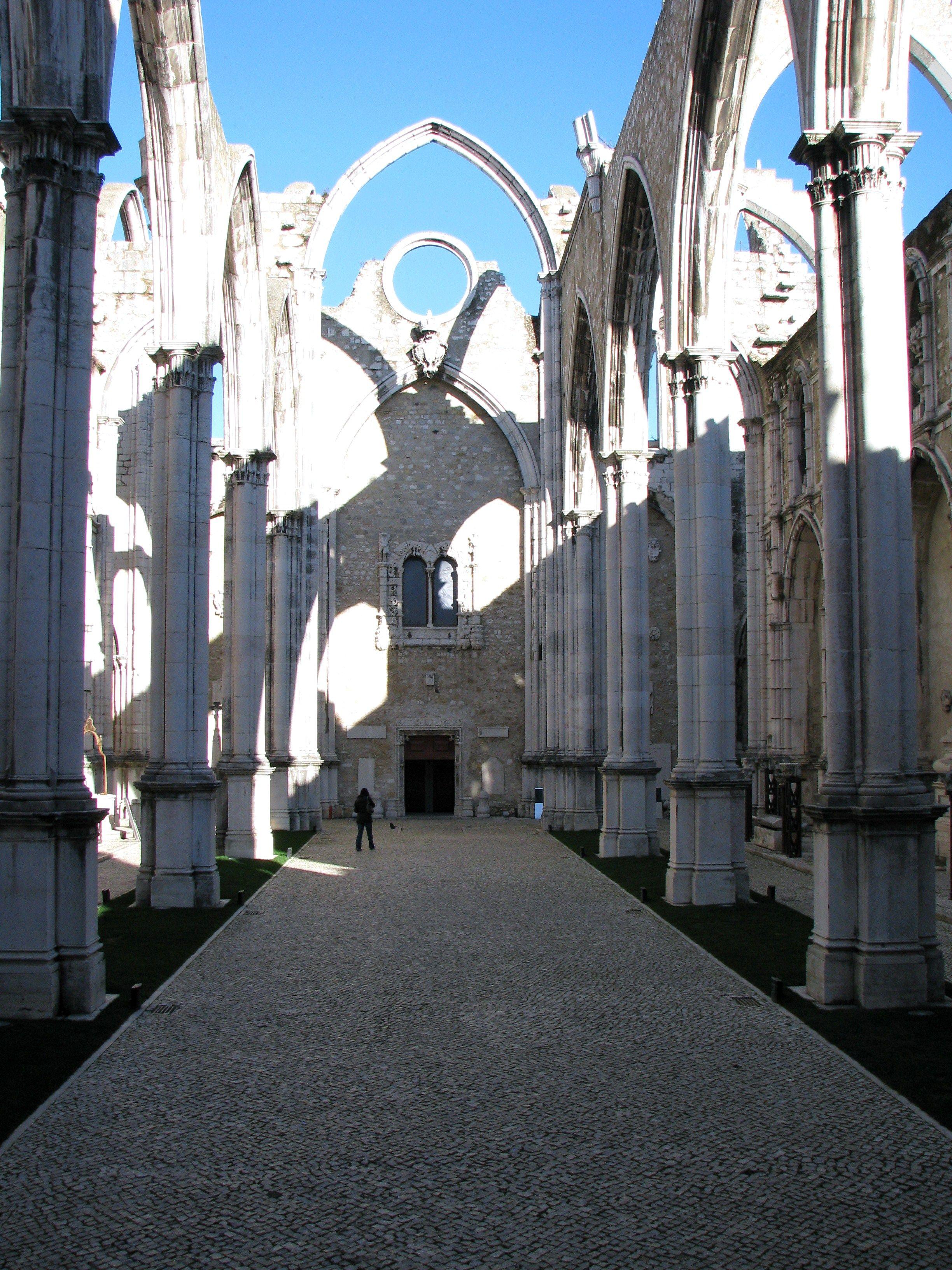 Carmo Convent Ruins, Lisbon, Portugal
