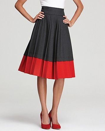 MARC BY MARC JACOBS Skirt - Tara Tonic Pleated - Skirts - Apparel - Women's - Bloomingdale's