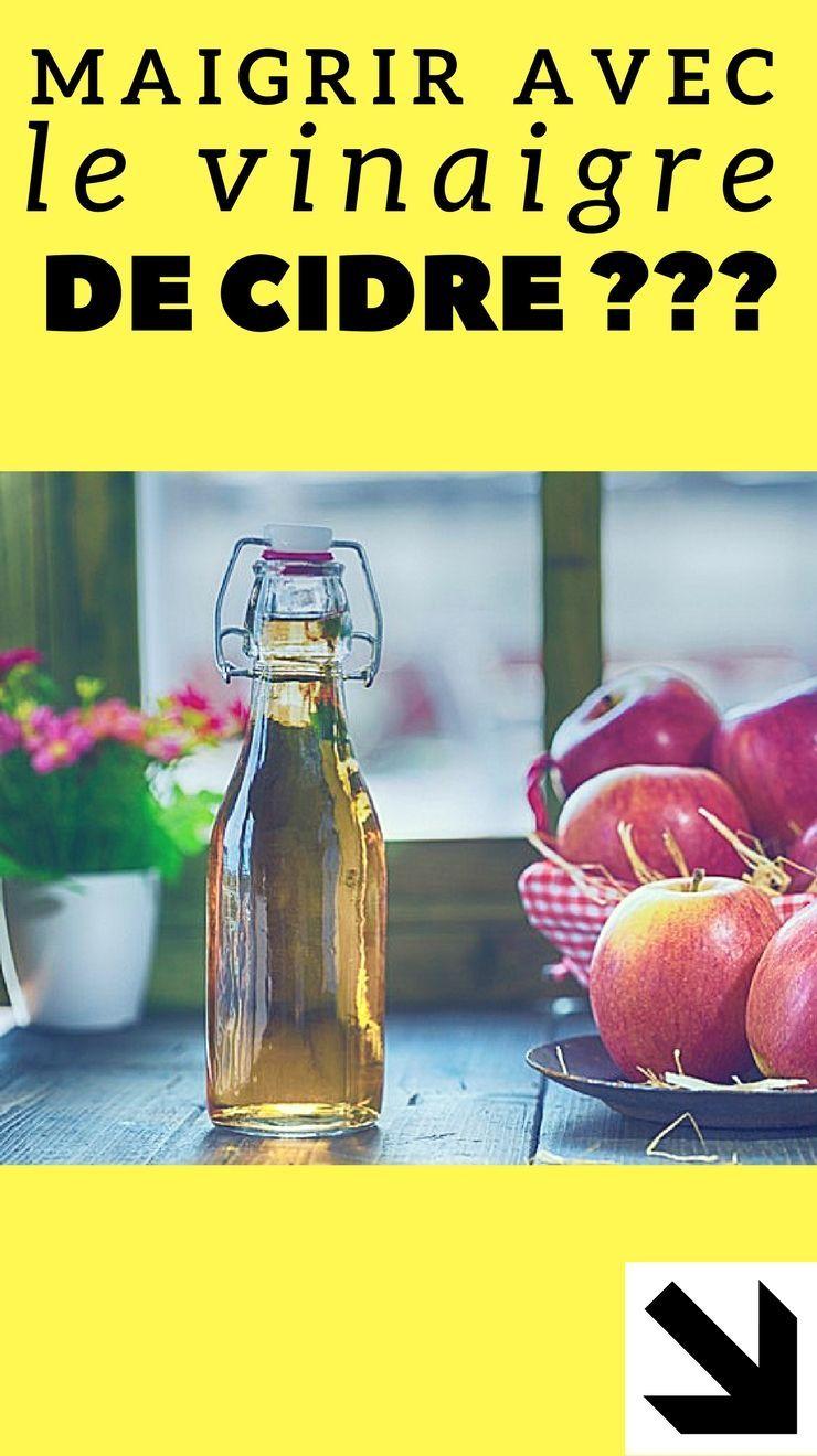 Le vinaigre de cidre pour maigrir, mythe ou réalité