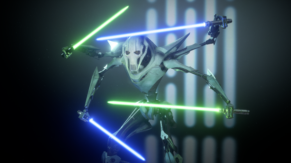 Tcw Inspired General Grievous At Star Wars Battlefront Ii 2017 Nexus Mods And Community Star Wars Games Star Wars Games Images