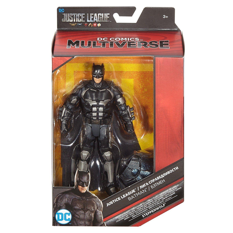 """DC Comics Multiverse Justice League Movie Batman Exclusive Action Figure 6/"""""""