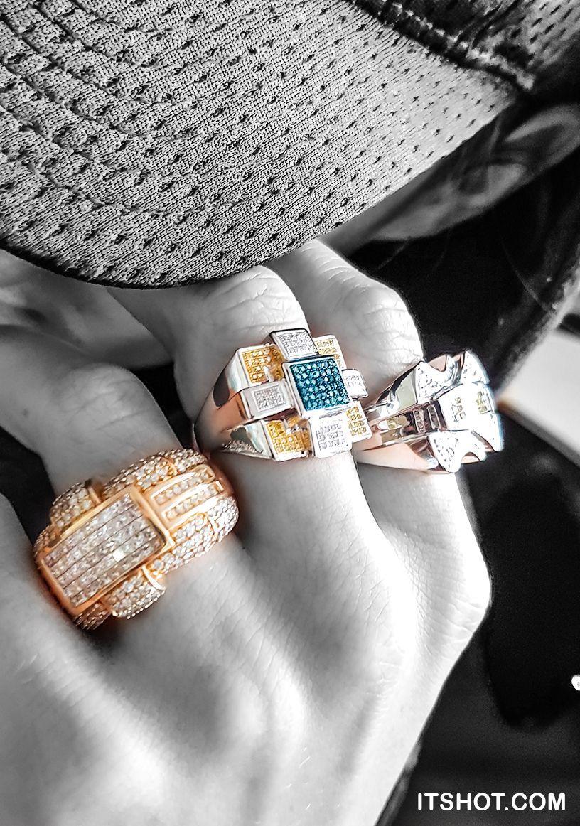 Hip hop diamond jewelry real gold diamond hip hop jewelry and bling