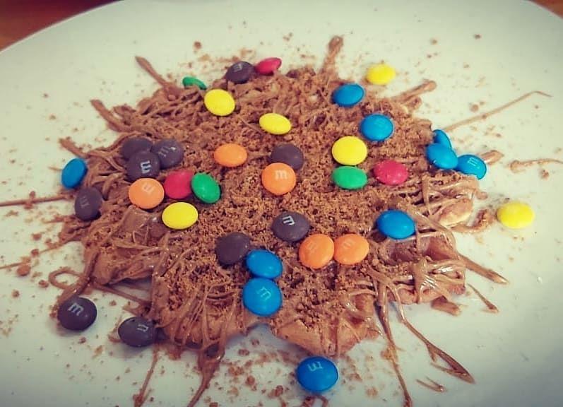 Waffle Pancakes Crepe Nutella Lotus Pistachio وافل بانكيك كريب نوتيلا لوتس بستاشيو اربد وافل اللوتس حجم صغير M M S ٢ Instagram Posts Instagram