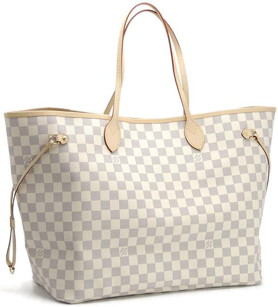 Louis Vuitton Neverfull Blanco