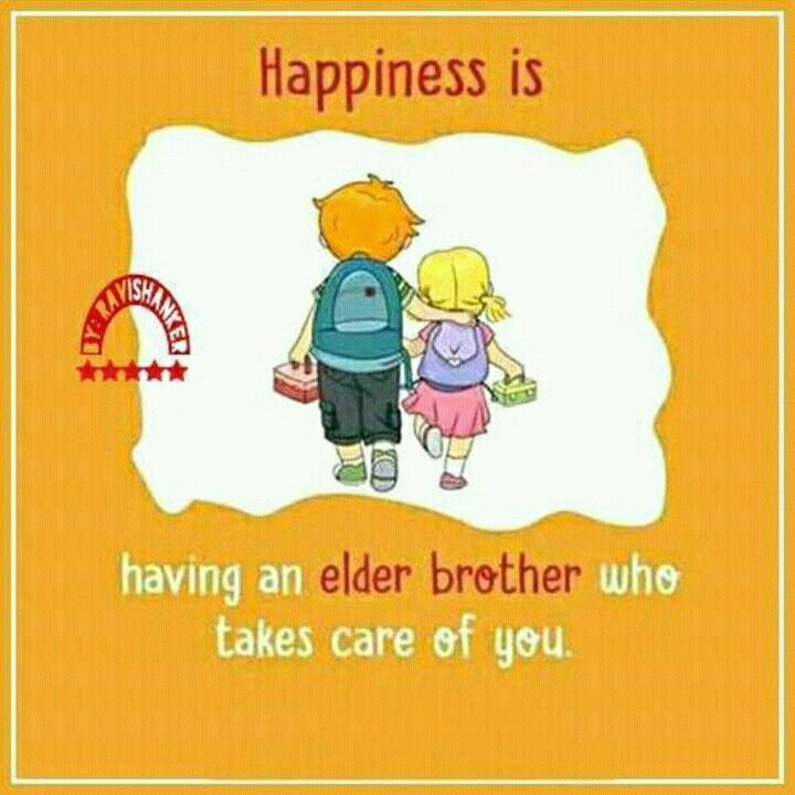 Yeah I Am Really Blessed To Have An Elder Bro Brother Sister Quotes Brother Quotes Sibling Quotes