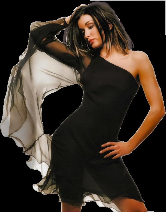 black off-the-shoulder dress : adoro !