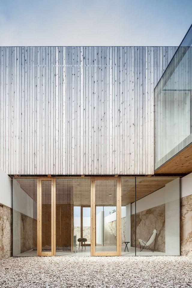 Pin by Sonja Say on The art of living Pinterest Architecture - holzverkleidung innen modern