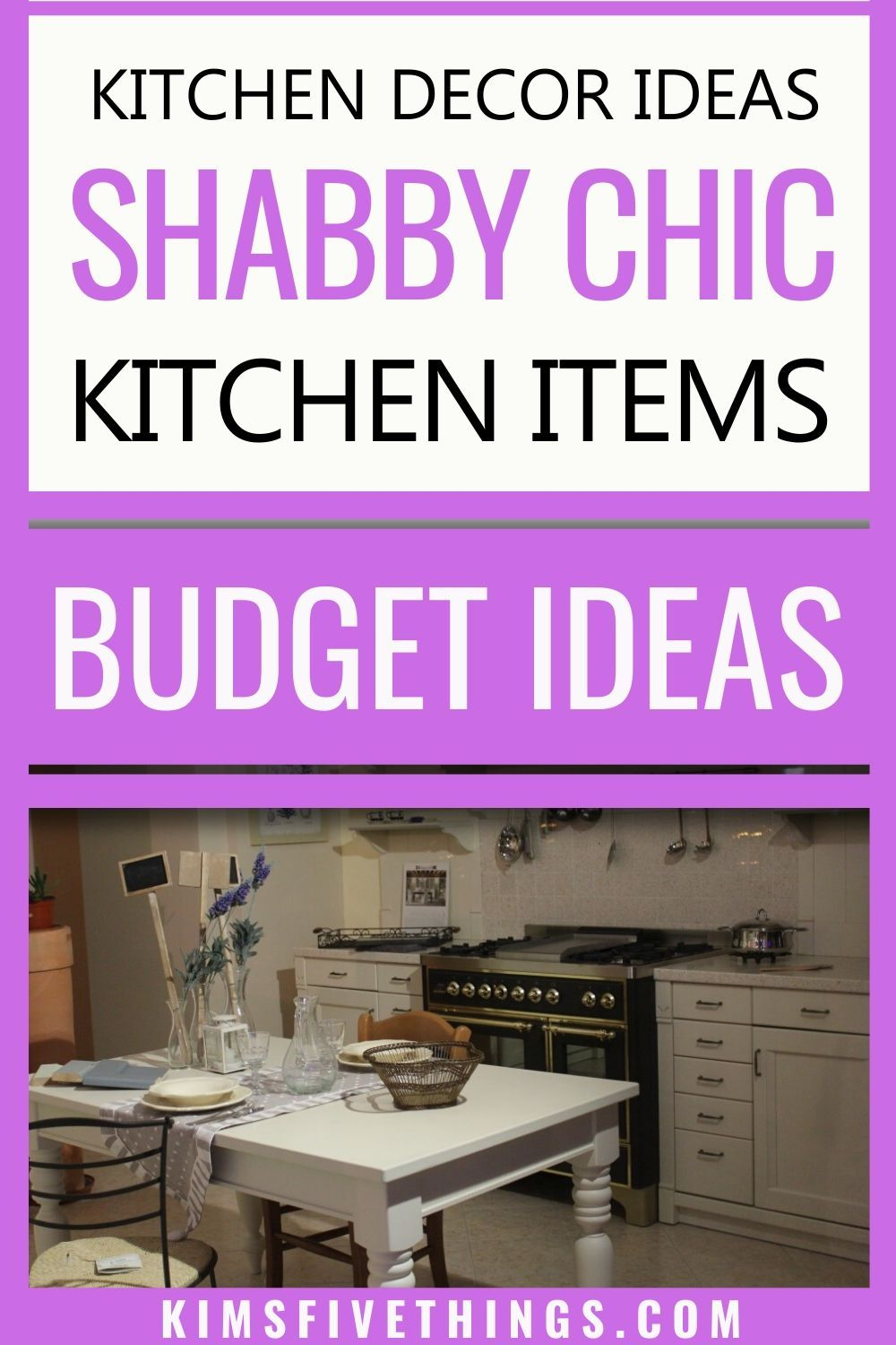 Pin On Shabby Chic Kitchen Accessories