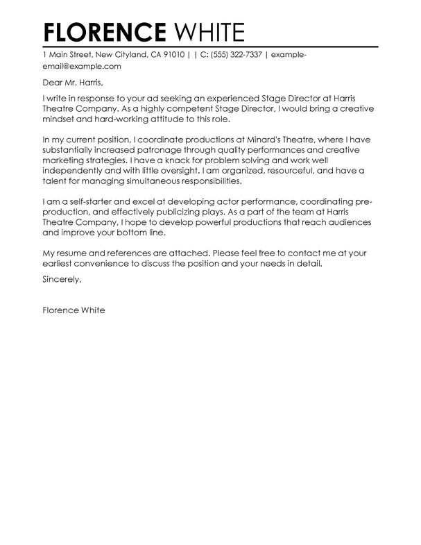 Cover Letter Template Medical in 2018 | Cover Letter Template ...