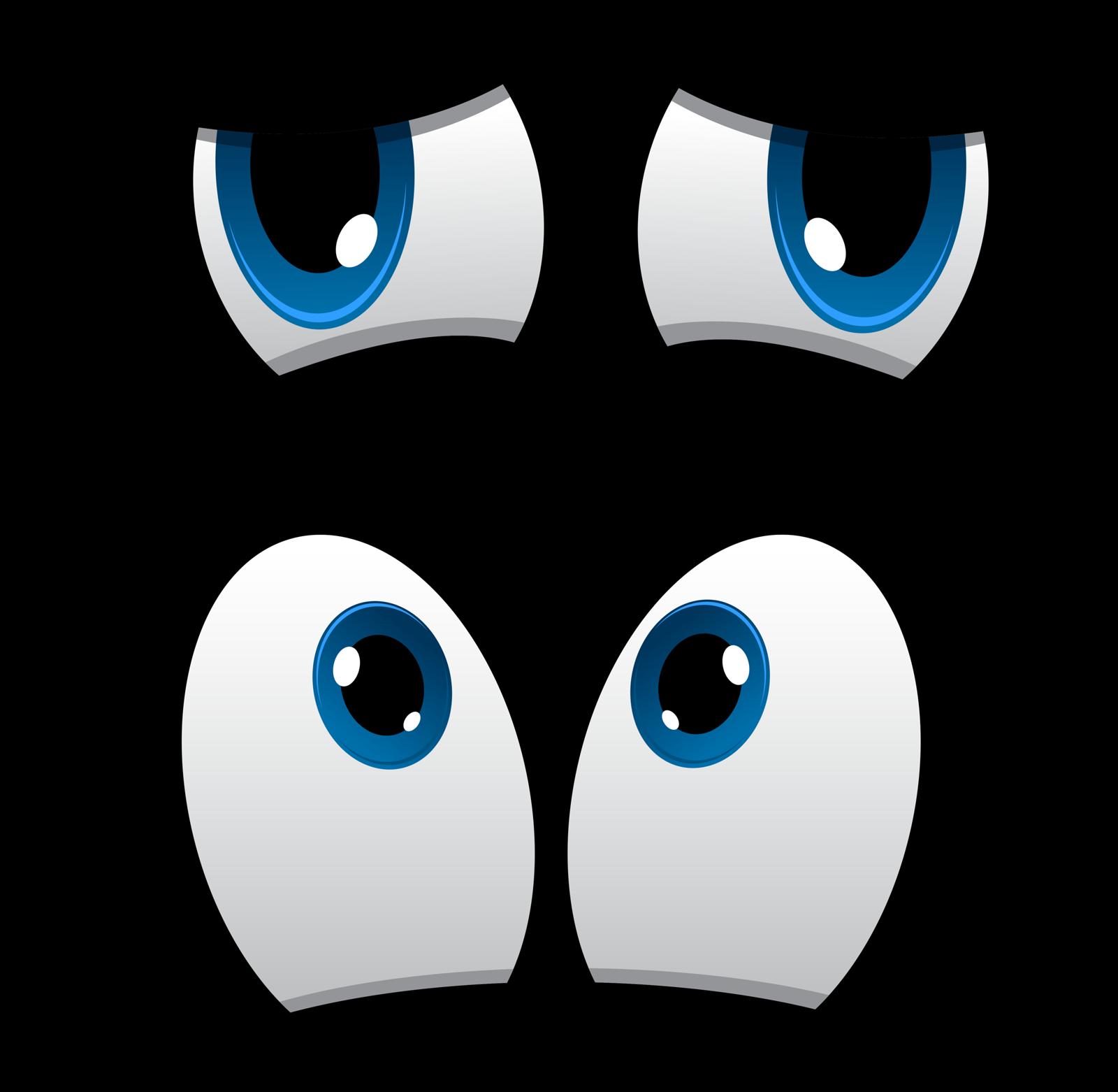 Рисунок глазки смешные