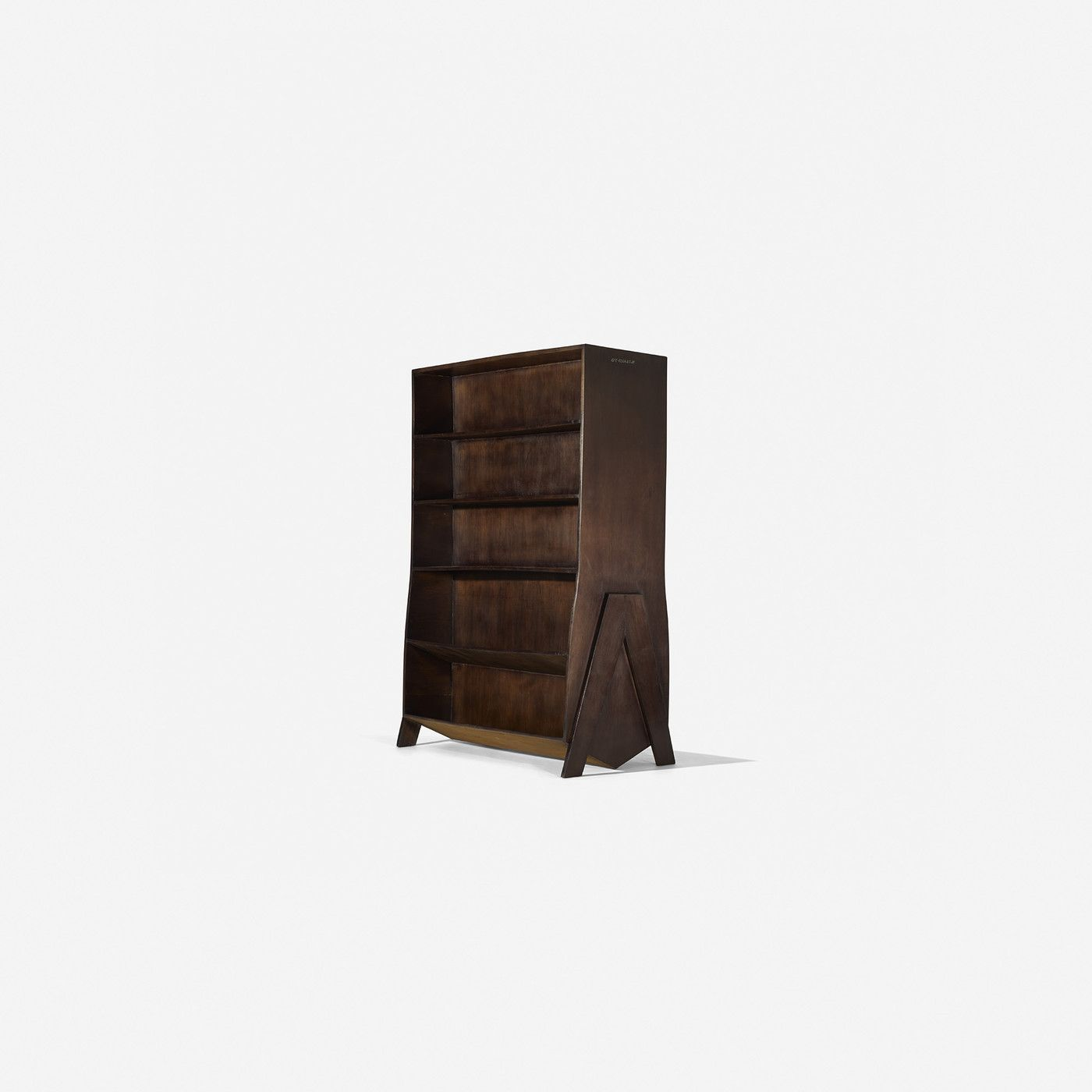 pixl bookcase bobois lacquered sided double berrux pin by roche fabrice design