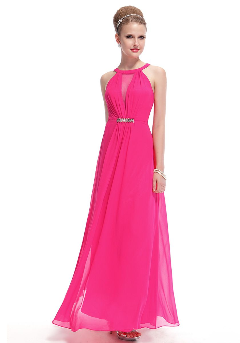 Spaghetti Floor Length Pink Empire A-Line Party Dress | "|840|1200|?|en|2|575afa081d6574c039155db306cafd36|False|UNLIKELY|0.35162821412086487