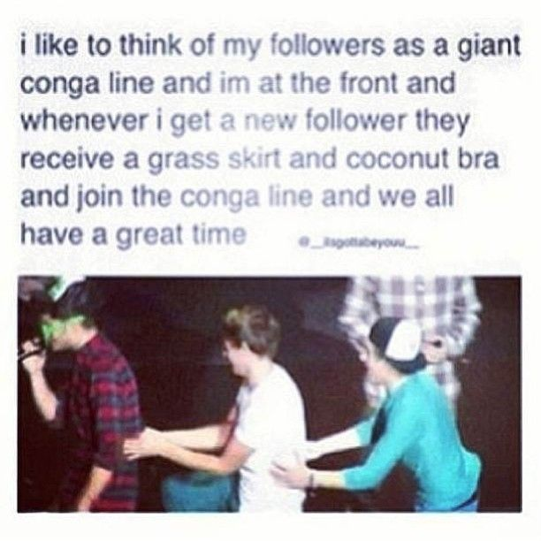 haha what the heck?!?!?! But to all my new followers, I just want to say HI! :) I try to look at your 1D boards when I see that you just started following me. And btw, fangirling is welcome and encouraged at my account so LET'S GO CRAZY CRAZY CRAZY!!!!! :D