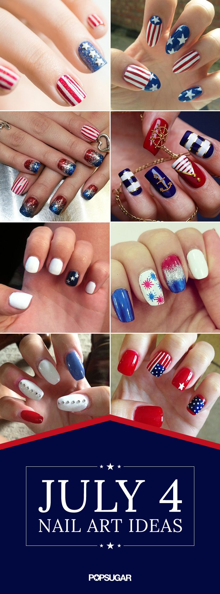 Even More Inspiration For Your July 4 Nail Art In 2018 Nails