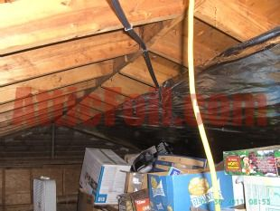 If the attic is used for storage then stapling foil to the radiant barrier lowest price on heavyweight radiant barrier foil insulation for do it yourself installation and professional installers how to videos solutioingenieria Image collections