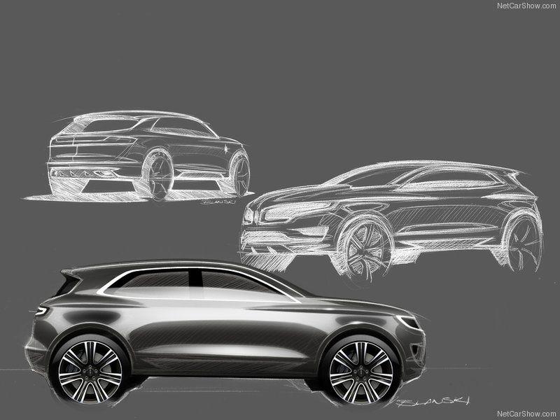 Lincoln MKC Concept Sketches