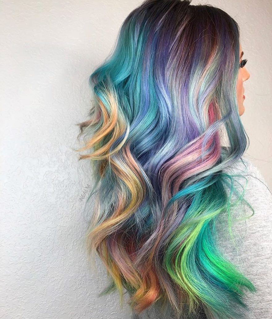 When your my little pony and lisa frank hair dreams come true