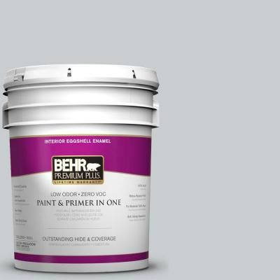 Behr Premium Plus 5-Gal. #N500-2 Loft Space Eggshell Enamel