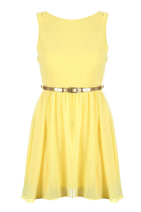 Yellow Dress 19 99 At Missguided Co Uk Dresses Cute Dresses Fashion Souls